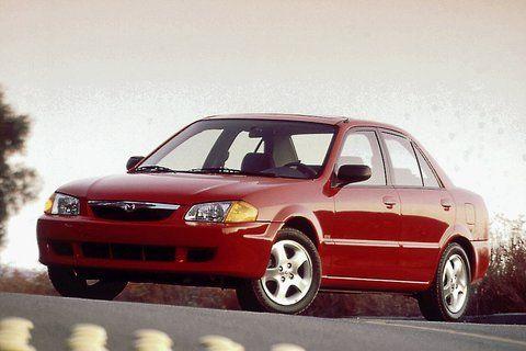 Mazda Protege 1999 2000 - Service Manual and Repair - Car Service