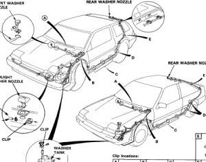 Honda accord 1986 Lx Ex - Service Manual - Car Service Manuals