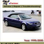 Audi A4 B5 Service Workshop Repair Manual 1995 1996 1997 1998 1999 2000