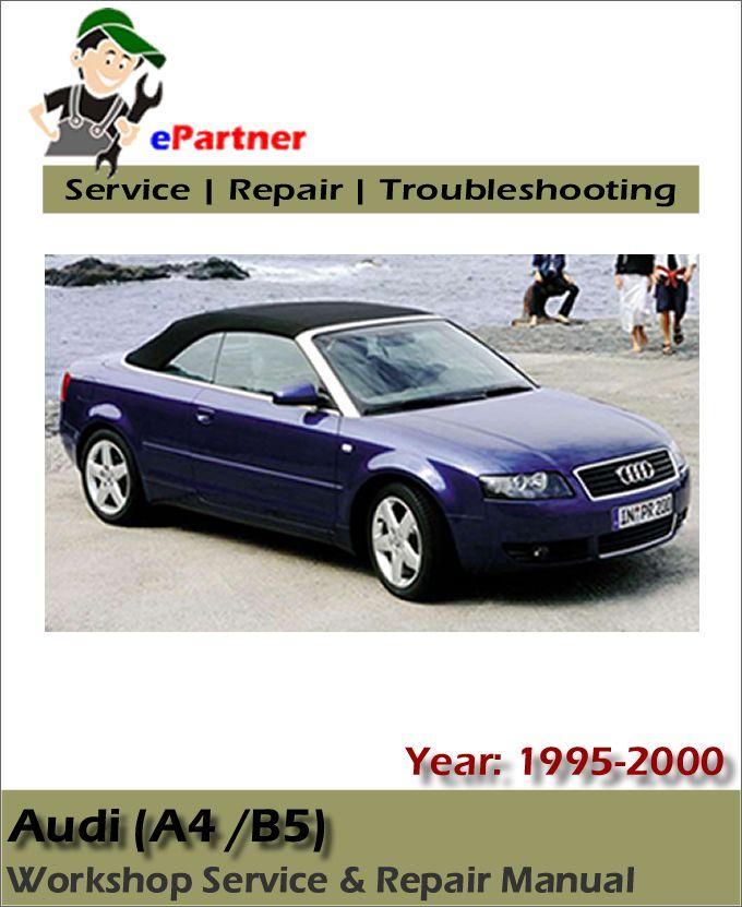 audi a4 service manual 1995-2000