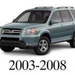 Honda Pilot 2002 2003 2004 Service Workshop Manual
