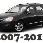 2007-2012 Kia Rondo Technical Workshop Service Repair Manual 2010 2011 2012 – Mechanical Specifications