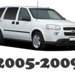 Chevrolet Uplander 2007 2008 2009 Workshop Service Repair Manuals