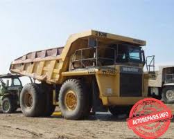 Komatsu 210M DG610 Dump Truck Workshop Service Pdf Manual
