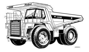 Komatsu 330m Dump Truck Workshop & Operator Service Pdf Manual