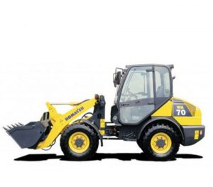 Komatsu WA70-5 Wheel Loader Operation Maintenance Pdf Manual