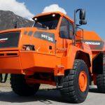 Daewoo Doosan Mt36, Mt41 Moxy Articulated Dump Truck Service Parts Manual