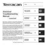 Hyundai Terracan 2002-2005 Electrical Troubleshooting Manual