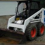 Bobcat 743 Skid Steer Loader Operator's & Part Manual