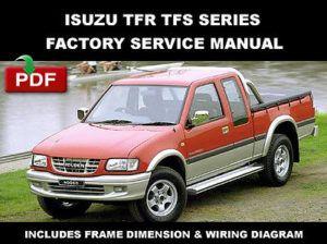 isuzu tfr tfs series 1997 2003 workshop service repair manual. Black Bedroom Furniture Sets. Home Design Ideas