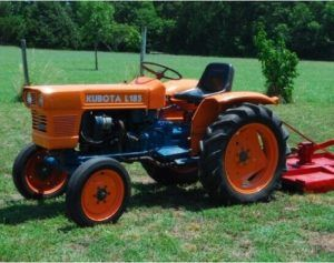 KUBOTA L185 TRACTOR WORKSHOP REPAIR SERVICE MANUAL